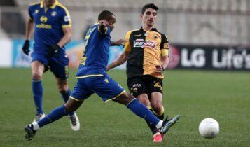ΑΕΚ-Αστέρας Τρίπολης 2-2 (ΤΕΛΙΚΟ)