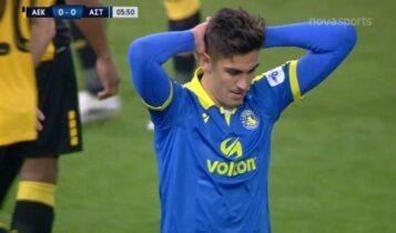 ΑΕΚ-Αστέρας Τρίπολης: Το «όχι» το Αθανασιάδη στην κεφαλιά του Καστάνιο (VIDEO)