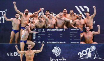 ΑΕΚ: Συγχαρητήρια ανακοίνωση για την πρόκριση της Εθνικής ομάδας πόλο