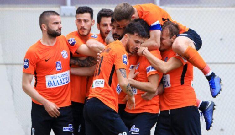 Απόλλων Λάρισας-Χανιά 1-0: Τρίποντο με γκολ του Ομπράντοβιτς (vid)