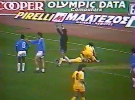 Το πρώτο γκολ του Στυλιανόπουλου με την ΑΕΚ, αλλά τι γκολ... (VIDEO)