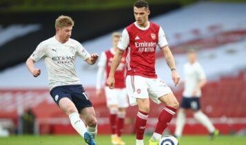 Premier League: Δεν έχει αντίπαλο η Μάντσεστερ Σίτι, 1-0 την Αρσεναλ (VIDEO)