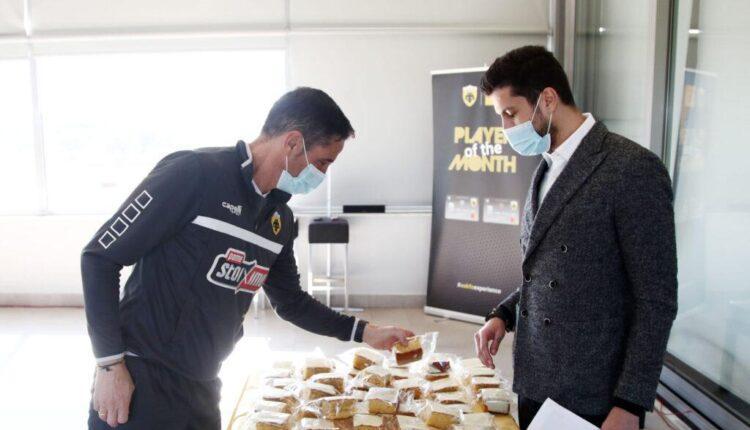ΑΕΚ: Τι κέρδισαν οι τυχεροί της πρωτοχρονιάτικης πίτας για το 2021