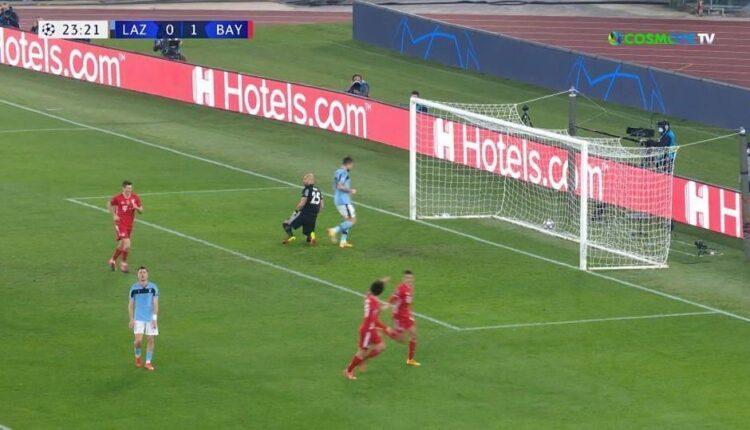 Λάτσιο-Μπάγερν Μονάχου: Πρώτο ευρωπαϊκό γκολ για Μουσιάλα και 0-2 (VIDEO)