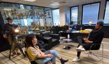 Ολιβέιρα: Συνέντευξη στην πορτογαλική τηλεόραση ενόψει Αρσεναλ-Μπενφίκα