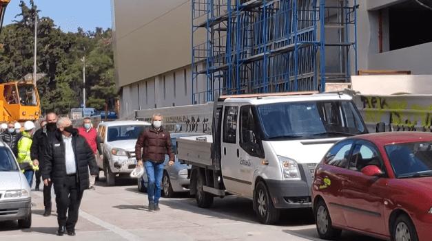 «Αγιά Σοφιά-OPAP Arena»: Πλάνα από την επίσκεψη Μελισσανίδη στο γήπεδο της ΑΕΚ (VIDEO)