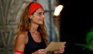Survivor: Αποχώρησε η Ανθή Σαλαγκούδη - Δεν χαιρέτησε τους συμπαίκτες της