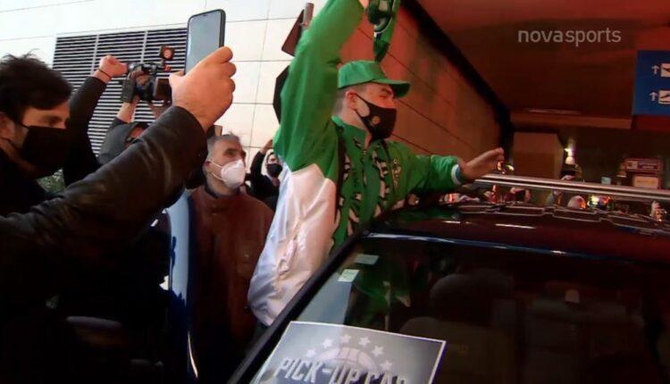 Παναθηναϊκός: Ετσι υποδέχθηκαν τον Μάριο Χεζόνια (VIDEO)
