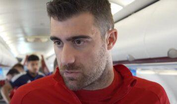 Παπασταθόπουλος: «Έχουμε αρκετές πιθανότητες να αποκλείσουμε την Άρσεναλ» (VIDEO)