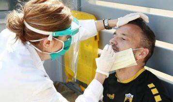 ΑΕΚ: Αρνητικά όλα τα νέα τεστ κορωνοϊού