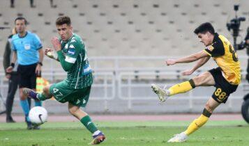 ΑΕΚ: Ο Βασιλαντωνόπουλος έχει να παίξει ένα γύρο! (VIDEO)
