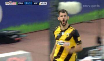 Παναθηναϊκός-ΑΕΚ: Το περσινό 1-3, η μεγαλύτερη εκτός έδρας νίκη της Ενωσης (VIDEO)