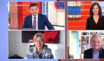 Αθηνά Λινού: Μη αποδοτικό το lockdown - Πιθανό να παραταθεί (VIDEO)