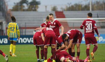 Super League: Η Λάρισα κέρδισε 1-0 τον Παναιτωλικό και ελπίζει (VIDEO)