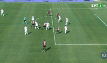 Παναχαϊκή-Ξάνθη: 1-0 με γκολάρα Ανάκογλου! (VIDEO)