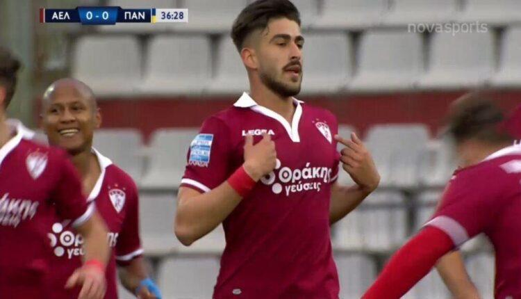Λάρισα-Παναιτωλικός: 1-0 με τρομερό σουτ του Πινακά (VIDEO)