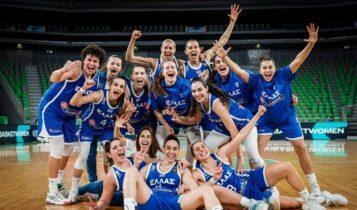 Εθνική Γυναικών: Σταθερά στην 13η θέση της FIBA (ΦΩΤΟ)