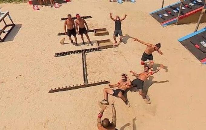 O πανηγυρισμός της χρονιάς: Τα... πιστόλια του Τριαντάφυλλου στο Survivor! (VIDEO)