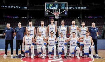 Εθνική Ανδρών: Πέρασε τη Γαλλία στην κατάταξη της FIBA (VIDEO)