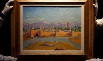 Αντζελίνα Τζολί: Πούλησε σε δημοπρασία πίνακα του Ουίνστον Τσόρτσιλ (VIDEO)