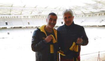 Ατματσίδης και Μανωλάς στην «Αγιά Σοφιά-OPAP Arena»: «Την Ιστορία την σεβόμαστε και την τιμάμε» (ΦΩΤΟ)