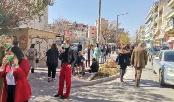 Σεισμός στην Ελασσόνα: Βγήκαν στους δρόμους οι Λαρισαίοι!