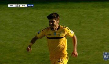 Χατ τρικ ο Τσέλιος, νίκη του Εργοτέλη με 2-3 μέσα στην έδρα του Ιωνικού! (VIDEO)