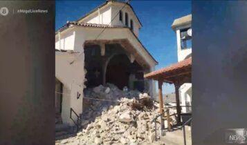 Ελασσόνα: Ισχυρός σεισμός 6 Ρίχτερ – Ζημιές σε σπίτια & σχολεία, ανάστατοι οι κάτοικοι (VIDEO)