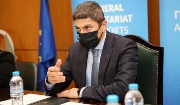 Αυγενάκης: Επαναφέρει το θέμα της αναστολής των ερασιτεχνικών πρωταθλημάτων!