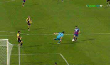 Βόλος-ΑΕΚ: Κακή αντίδραση Τσιντώτα, έκανε πέναλτι και... 1-0! (VIDEO)