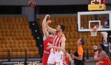 Ο Ολυμπιακός κέρδισε 94-79 τον Ερυθρό Αστέρα (VIDEO)
