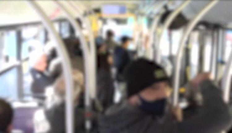 «Ξεκλείδωτο» lockdown: Αυξημένη κίνηση στους δρόμους & γεμάτα λεωφορεία στην Αττική (VIDEO)