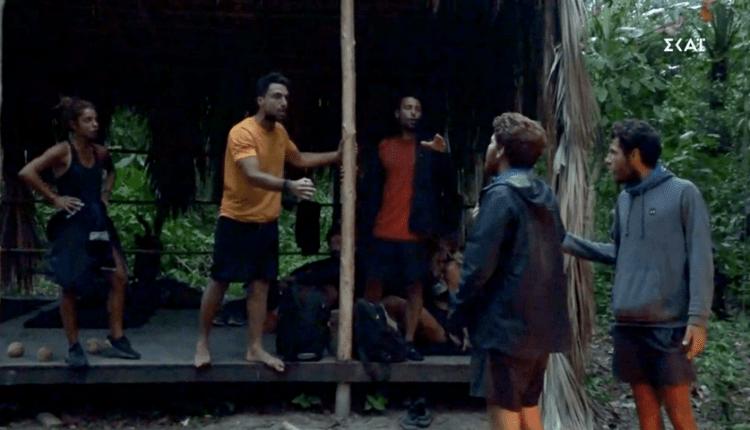 Τον χτύπησε ενώ οι κάμερες έγραφαν: Αυτό είναι το κομμένο πλάvο από τον καβγά στο Survivor που εξαφάνισαν (VIDEO)