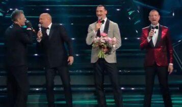 Ζλάταν: Πήγε στο Sanremo με... μηχανή οπαδού, τραγούδησε με τον Μιχαΐλοβιτς! (VIDEO)