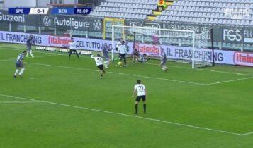 Σπέτσια - Μπενεβέντο 1-1: Ο Βέρντε χάρισε το βαθμό (VIDEO)