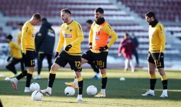 Επτά απουσίες για την ΑΕΚ, επέστρεψε ο Σαρδέλης