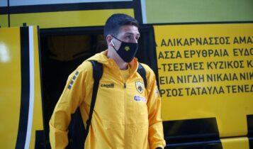 Κοσίδης: «Περιμένω με ανυπομονησία να πάρω την ευκαιρία μου»