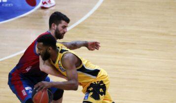 Basket League: Η ΑΕΚ στην κορυφή μετά τη νίκη με το Μεσολόγγι