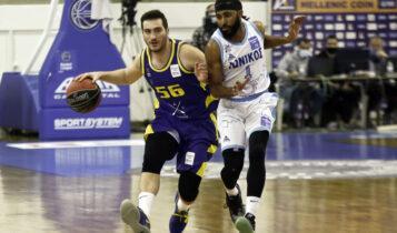 Basket League: Το Λαύριο πέρασε από την έδρα του Ιωνικού με 88-89 (VIDEO)