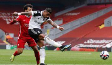 Λίβερπουλ - Φούλαμ: Το γκολ ο Λεμινά για το 0-1 (VIDEO)