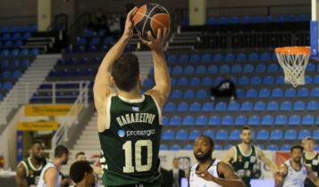 Basket League: «Εκτέλεσε» τον Κολοσσό ο Παναθηναϊκός με 95-82 (VIDEO)