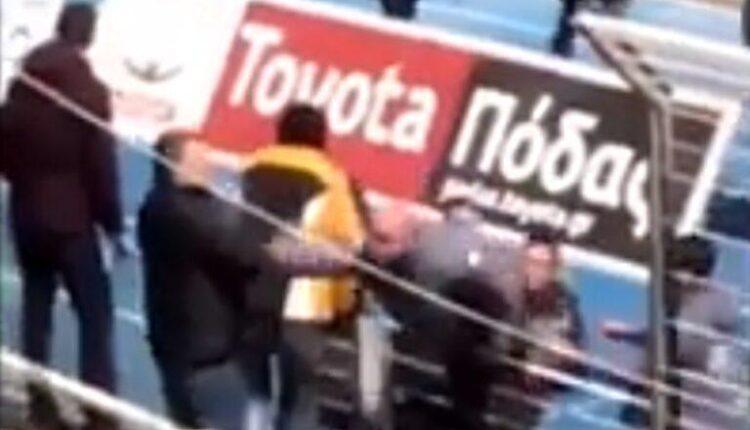 ΠΑΣ Γιάννινα – Παναθηναϊκός: Μέλος των φιλοξενούμενων χτύπησε φίλαθλο! (VIDEO)