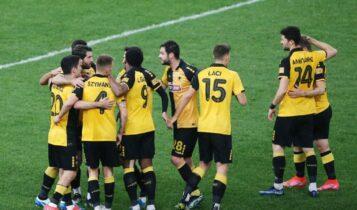 Super League: Η ΑΕΚ έπιασε στη 2η θέση τον Αρη