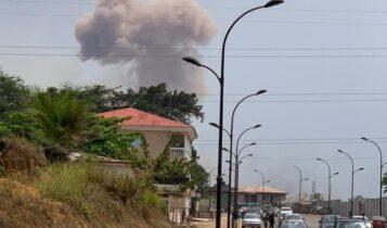 Γουινέα: Εκρήξεις σε στρατόπεδο - 15 νεκροί και 500 τραυματίες (VIDEO)