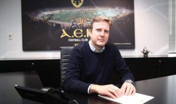 ΑΕΚ: Ο Γιώργος Κοσμάς και επίσημα νέος CEO και Α' Αντιπρόεδρος της ΠΑΕ!