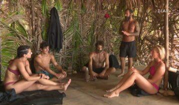 Survivor: Η ψυχολογία οδήγησε σε διαφωνία μεταξύ Τριαντάφυλλου και Κοψιδά (VIDEO)