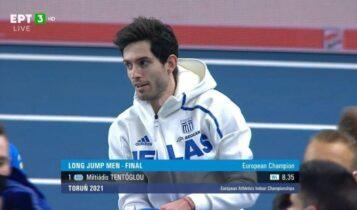 Τεντόγλου: «Επόμενος στόχος είναι οι Ολυμπιακοί Αγώνες» (VIDEO)