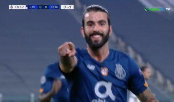 Σοκάρει την Γιουβέντους η Πόρτο, 0-1 με τον Ολιβέιρα (VIDEO)