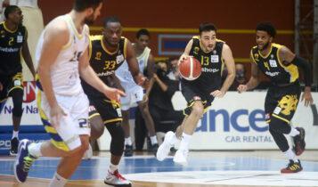 Βαθμολογία Basket League: Πρώτο το Λαύριο με ματς περισσότερο -3η η ΑΕΚ