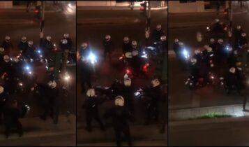 Νέα Σμύρνη: Ομάδα ΔΡΑΣΗ μετά την επίθεση στον αστυνομικό: «Πάμε να τους σκοτώσουμε...» (VIDEO)